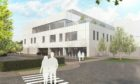 An artist's impression of what the new orthopaedic centre will look like.