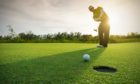 Four-ball play by locals can return to Scotland's golf clubs from Friday.