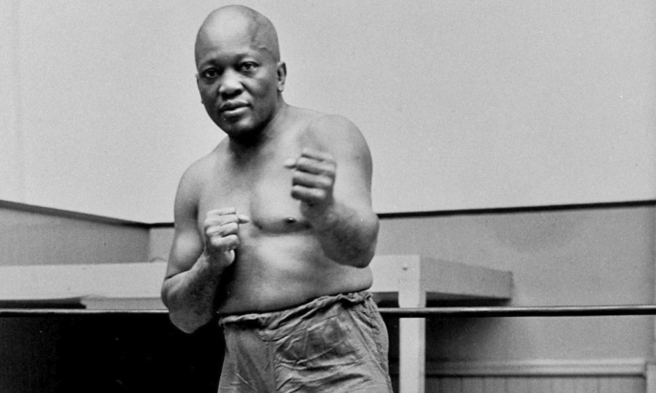 Jack Johnson took the city by storm in 1916.
