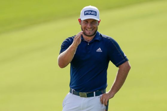 """""""Angry golfer"""" Tyrrell Hatton is able to laugh at himself."""