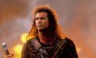 Mel Gibson in Braveheart.