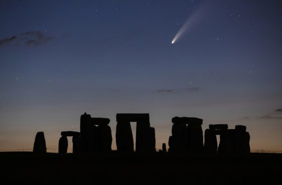Stonehenge.