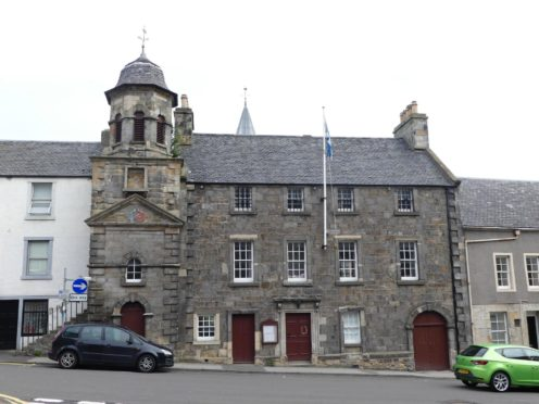 Inverkeithing Town House.