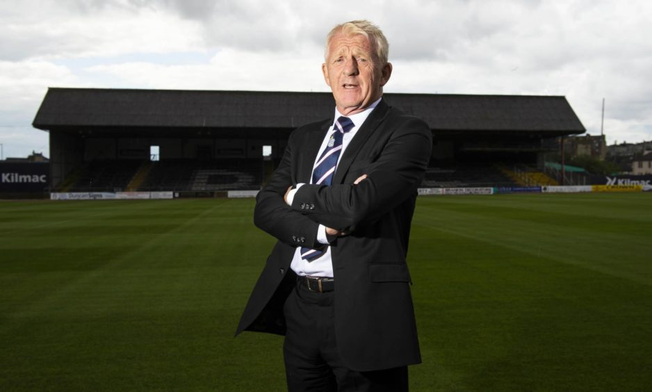 Dundee technical director Gordon Strachan.