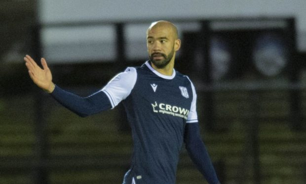 Dundee defender Liam Fontaine.