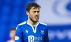 PERTH, SCOTLAND - NOVEMBER 21: St Johnstone's Murray Davidson during a Scottish Premiership match between St Johnstone and Motherwell at McDiarmid Park, on November 21, 2020, in Perth, Scotland (Photo by Roddy Scott / SNS Group)