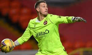 Dundee United goalkeeper Benjamin Siegrist has been in fabulous form this season.