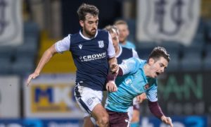 Dundee's Shaun Byrne talks terrible weather, class signing and choke slams as he says Dark Blues are making the most of enforced break
