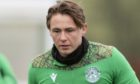 EDINBURGH, SCOTLAND - JANUARY 29: Scott Allan during Hibernian media access at the Hibernian Training Centre on January 29, 2021, in Edinburgh, Scotland. (Photo by Mark Scates / SNS Group)