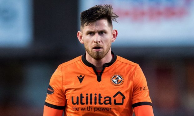 Dundee United midfielder Calum Butcher.