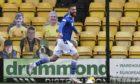 Shaun Rooney races away after scoring.
