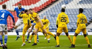 RAB DOUGLAS: Cross balls on top of the Galatasaray goalie could be the key to historic St Johnstone Europa League win