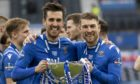 St Johnstone stars Callum Booth and David Wotherspoon.