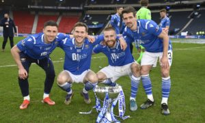 St Johnstone star Craig Bryson loved cup final experience – despite personal disappointment