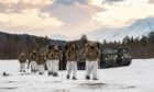The Condor-based Royal Marines have begun their Arctic deployment.