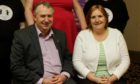 Councillor Ken Lynn and Diane McCulloch pictured in 2015.