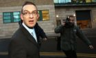 Colin Norris outside Newcastle Crown Court
