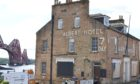 The former hotel could soon be transformed into luxury flats with views of the iconic views of the Forth Rail Bridge.