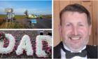 William Barclay died in a crash on the A94.