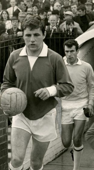 Benny Rooney pictured in 1967.