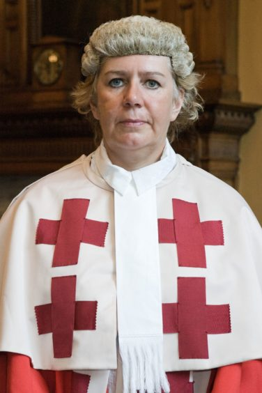 Lord Justice Clerk Lady Dorrian.