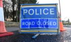 A van overturned on the AWPR approximately four miles north of Stonehaven