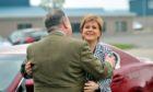 Alex Salmond and Nicola Sturgeon in 2017.