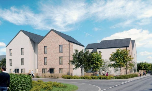 Perth and Kinross Council have approved a flats plan at the now demolished Fairfield Neighbourhood Centre site