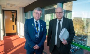 Joint Fife Council leaders David Alexander & David Ross.