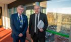 Fife Council co-leaders Cllr David Alexander and David Ross have praised financial staff for work during the pandemic.
