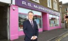 Allan Gordon, managing director of Davidsons Chemists, which owns RS McPherson in Broughty Ferry.