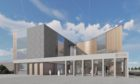 A preliminary concept image of the Tay Cities Regional Innovation Hub.