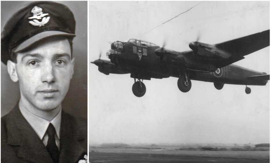 Fife-born John Robert Mills was a bomber pilot in the Second World War. He would have turned 100 years old on February 13 2021.