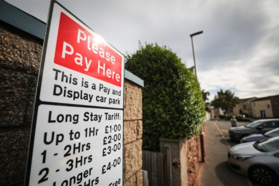 Parking charges returned in late 2018.