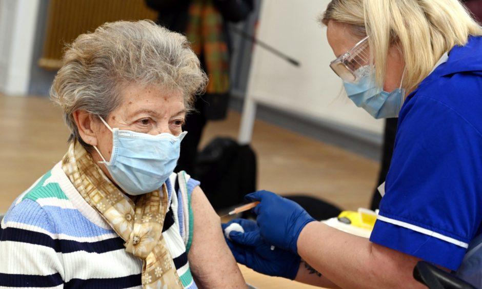 Sturgeon vaccinated