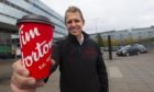 Kevin Hydes, UK chief commercial officer for Tim Hortons.