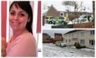 Michelle Lizanec/Orchard Way, Inchture (bottom right)/Balunie Street, Dundee (top right)