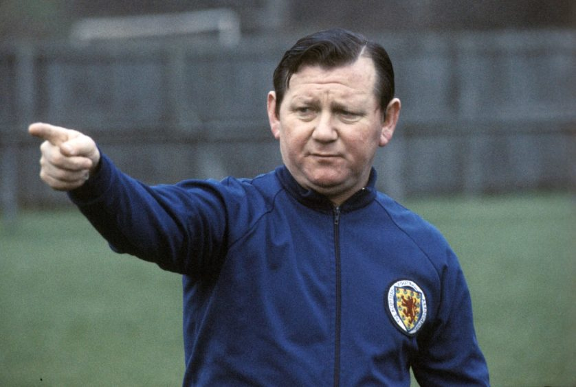 Ex-Saints and Scotland boss Willie Ormond.