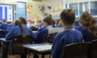 Pupils in P1 to 3 will return to the classroom on Monday.