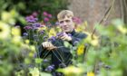 Kieran Bruce, a budding young apprentice gardener from Craigie in Perth at Scone Palace in 2019