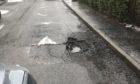 Fife pothole repairs backlog.