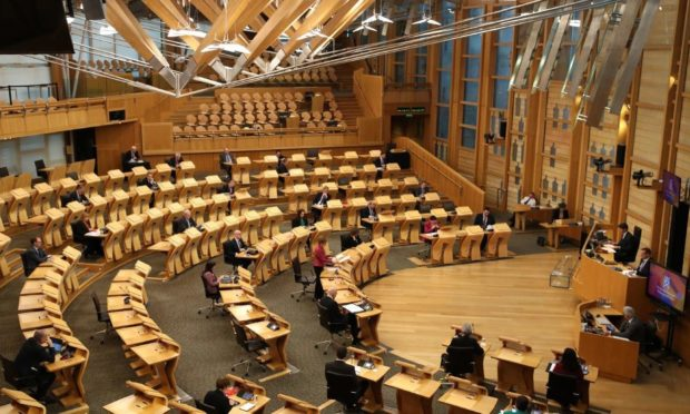 The Scottish Parliament.