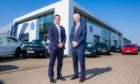 Cameron Motor Group that has the Audi, Volvo and Volkswagen dealerships in Perth. Director Jamie Cameron and chairman Douglas Cameron.