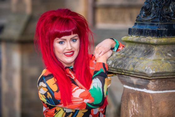 Dundee singer Demi McMahon.