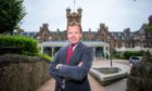 Stephen Leckie, chief executive of Crieff Hydro hotel.