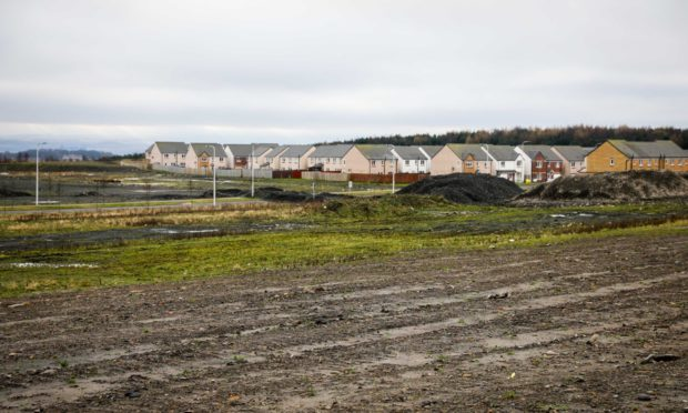 The site in Dunlin Drive.