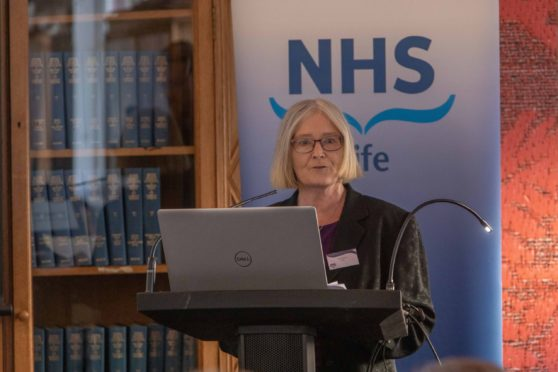 """NHS Fife chairperson, Tricia Marwick, has described the donation as an """"extraordinary act of kindness""""."""