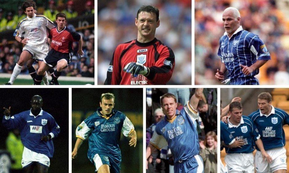 St Johnstone stars of 1998.