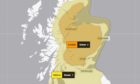 The Met Office has issued an amber weather warning for snow.