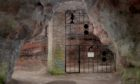 An artist's impression of what the proposed gates at Court Cave will look like.